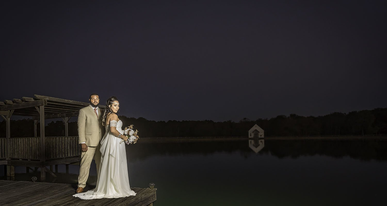 Wedding bride and groom portrait   Wedding photographer Raleigh NC