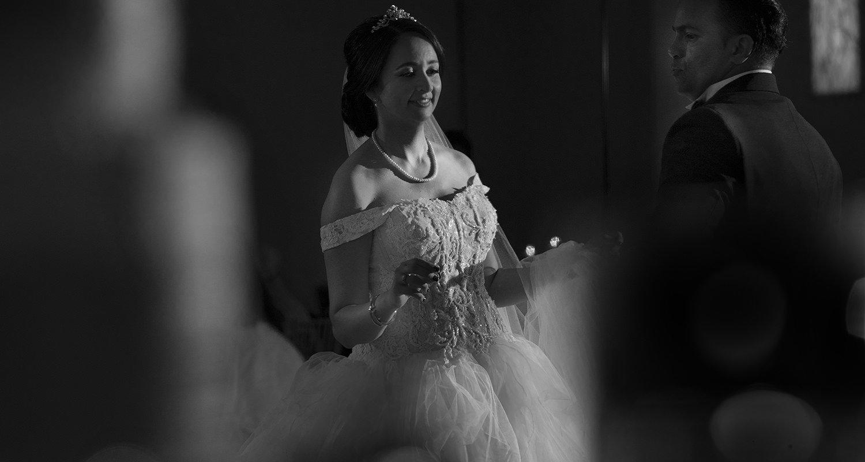 Wedding couple black and white | Wedding photographer Raleigh NC