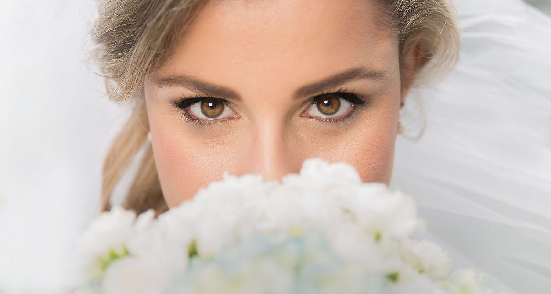 Wedding bride portrait closeup | Wedding photographer Raleigh NC