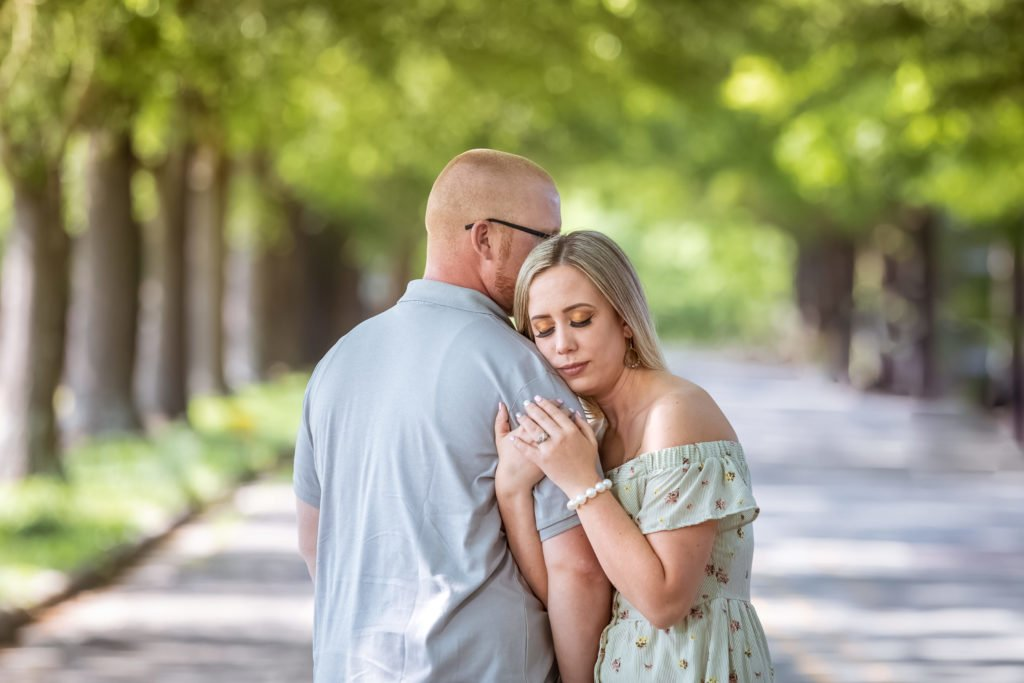 Couple outdoors | Clement Farm Wedding | Raleigh wedding photographer