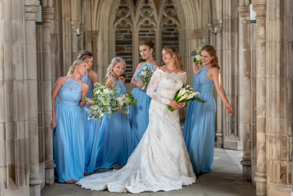 Duke Chapel Wedding | Raleigh wedding photographer
