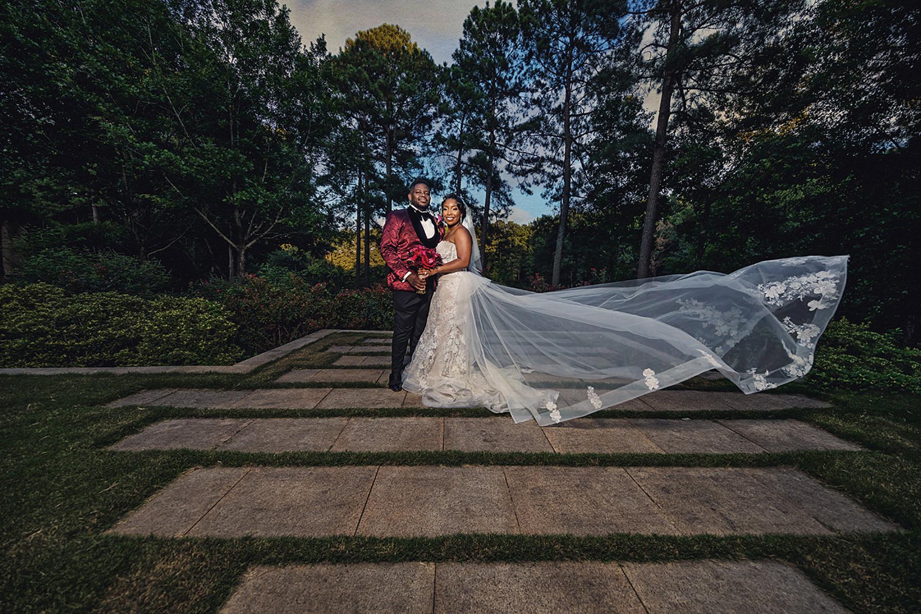 The Umstead Hotel Wedding - Couple Embracing.