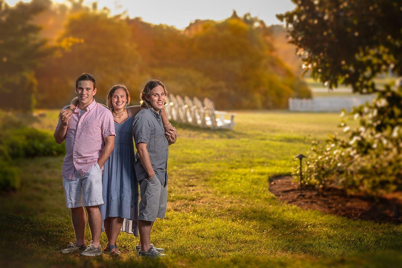 Family Portrait   Raleigh wedding photographer