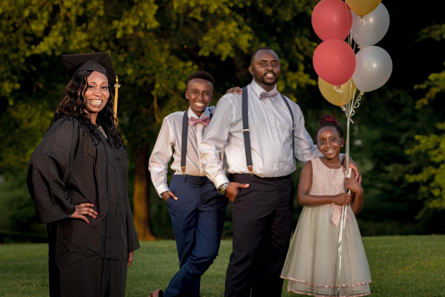 Family Portrait | Raleigh wedding photographer
