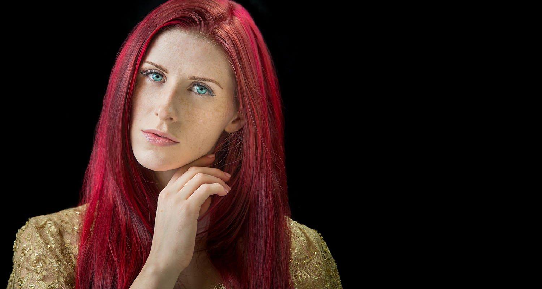 Red head portrait | Raleigh wedding photographer