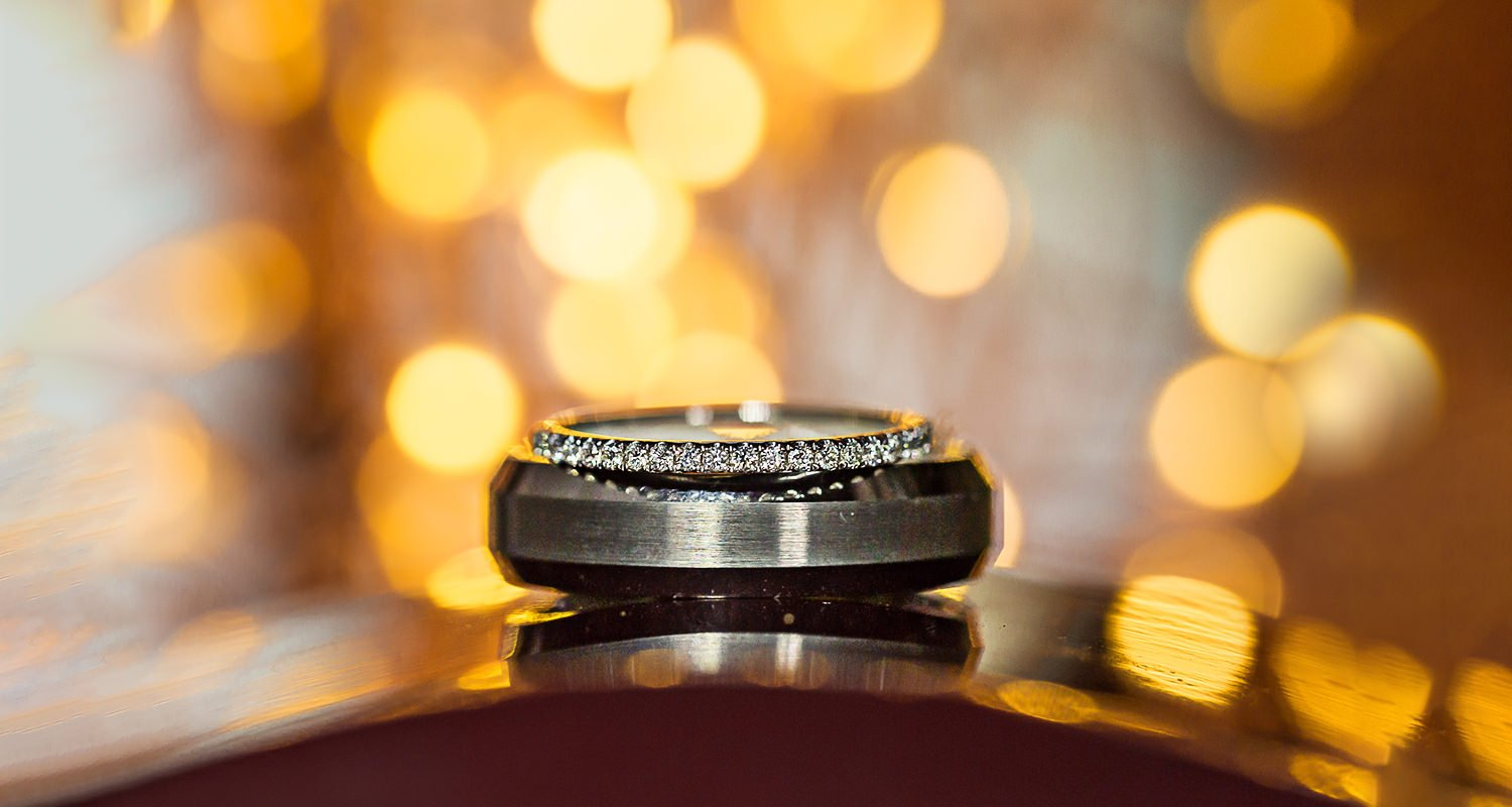 Wedding ring details | Raleigh wedding photographer