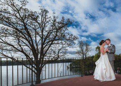 Wedding couple first dance - Bella Collina Mansion weddings  | Raleigh wedding photographer