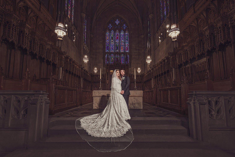 Duke Chapel Wedding  | Raleigh wedding photographer